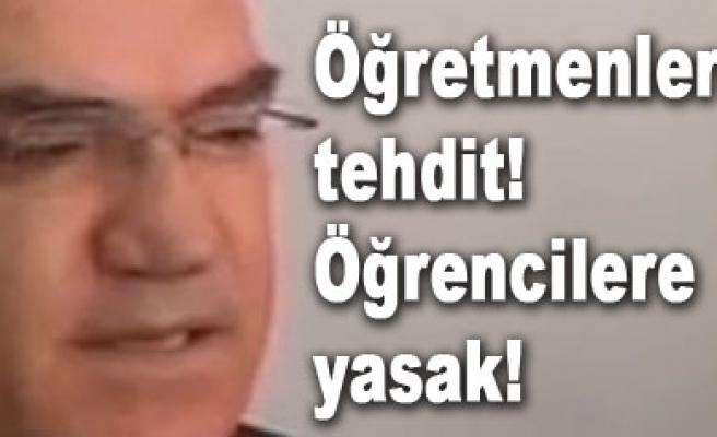 Çankırı Valisi Uzun yine bildik havalarda...