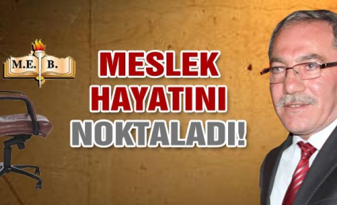 Yaşar Petek otuz beş yıllık meslek hayatına veda etti!
