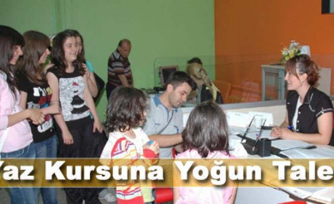 Çankırı Belediye Yaz Okuluna Yoğun  Talep