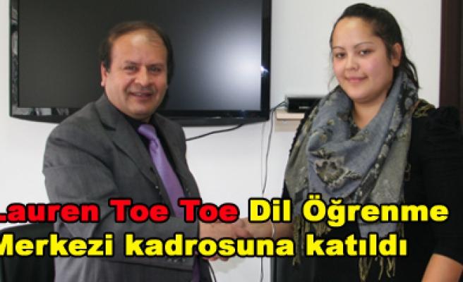 Dil Öğrenme Merkezine Yeni Zelandalı Hoca