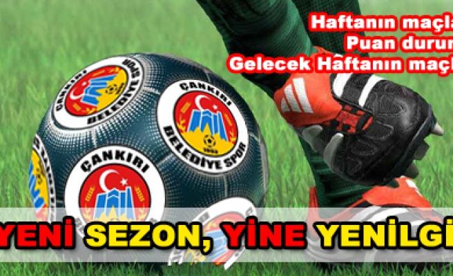 Çankırıspor ilk maçında Buca da avlandı