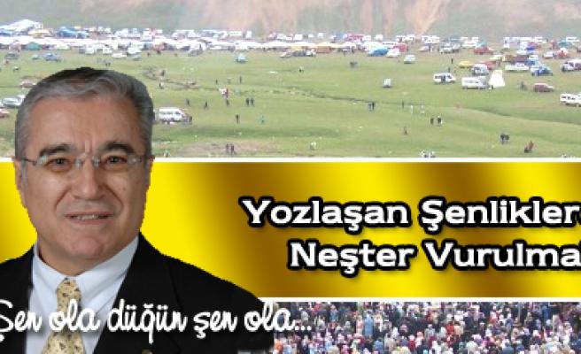 Bahattin Ayhandan köy şenliklerine eleştiri geldi