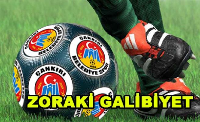 Gülen taraf bir golle Çankırıspor