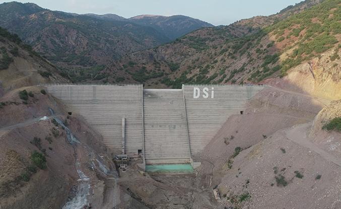 Dereçatı barajı tamamlandı!