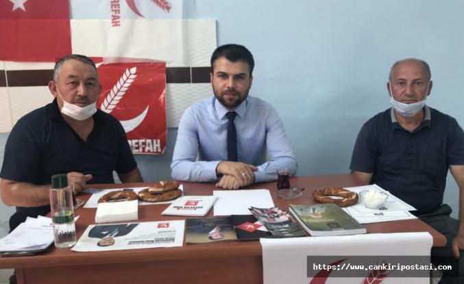 Müjdeci  1074 Çankırıspor'a yapılan haksızlığı tepki gösterdi