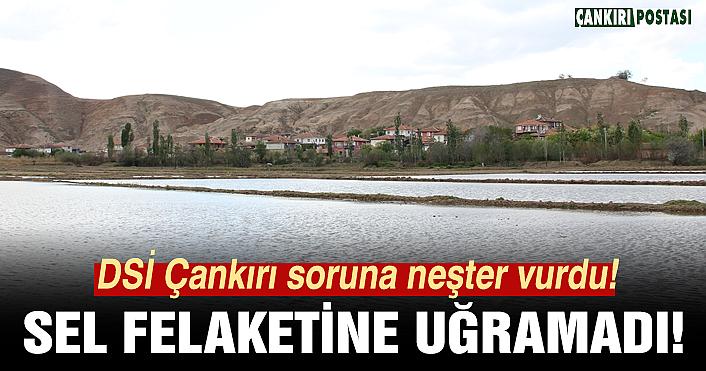 Karadayı köyü alınan tedbirlerle sel baskınına uğramadı!