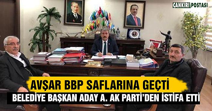 AK Parti'den istifa etti, BBP saflarına geçti!