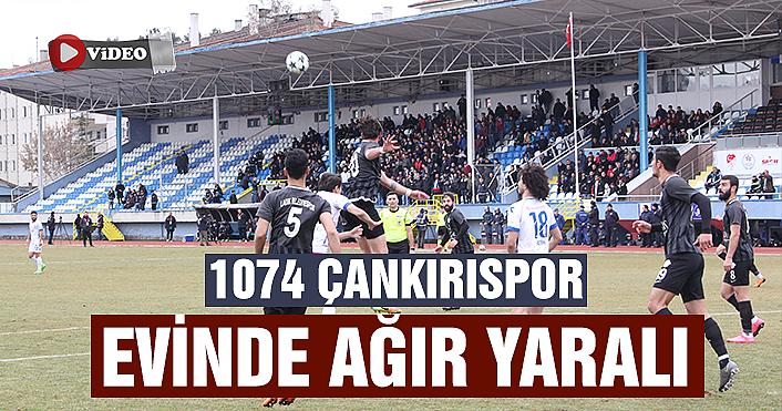 1074 Çankırıspor evinde ağır yaralı!