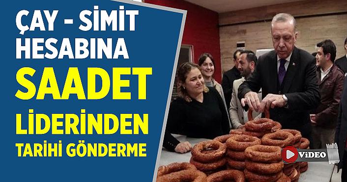 AK Partili vekilin 'çay-simit' hesabına Karamollaoğlu'ndan tarihi  gönderme!