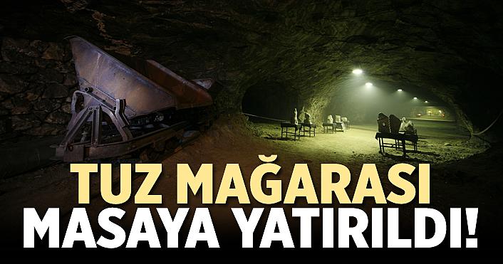 Tuz Mağarasının Turizme Açılması İçin Etkin İş Birliği