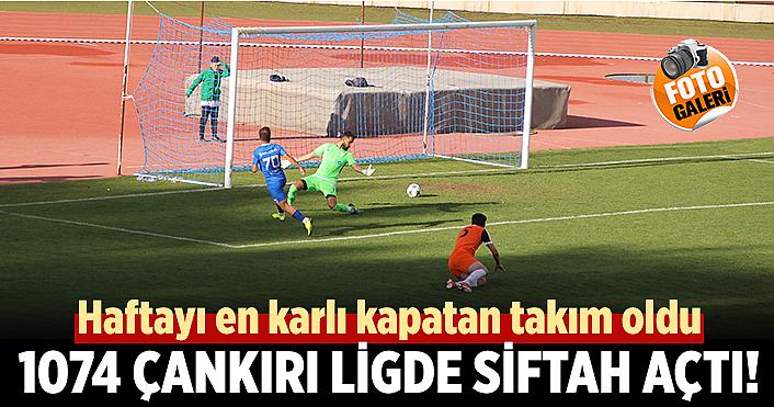 1074 Çankırıspor Ligde siftah açtı!