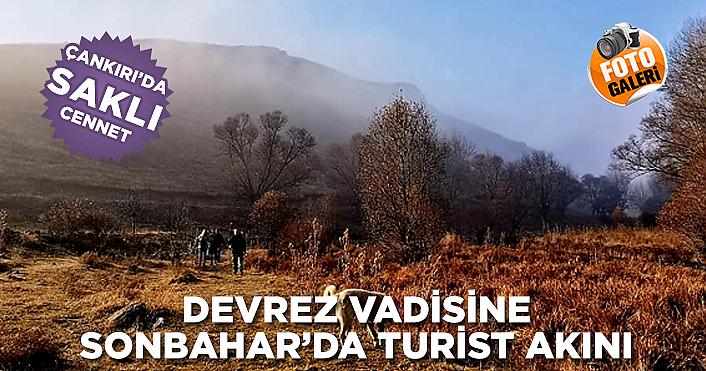 Devrez Vadisine Sonbahar 'da turist akını!