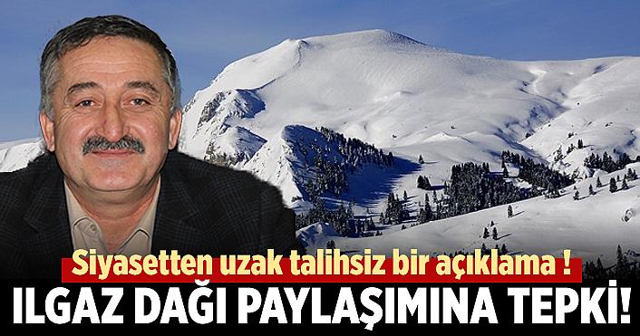 Ilgaz dağı paylaşımına Başkan Öztürk'ten cevap geldi!