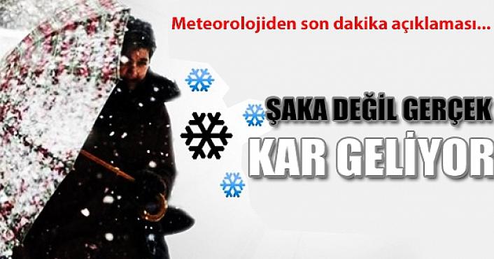 Hafta sonu kar geliyor! Soğuk günlere hazırlanın…