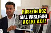 Çankırı Belediye Başkanı Boz, mal varlığını açıkladı!