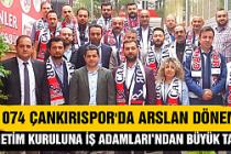 1074 Çankırıspor'da Arslan dönemi