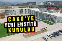 Çankırı Karatekin Üniversitesine yeni bir enstitü kuruldu