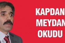 MHP'li Kapdan, İrfan Dinç'e meydan okudu