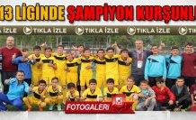 Çankırı U13 Futbol liginde Şampiyon Kurşunlu Belediyespor!