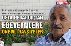 Usta Pedagog Ali Çankırılı'dan ezber bozan cevaplar