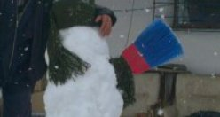 Kardan adama böyle sarıldı