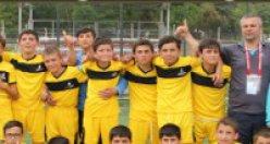 U13 Liginde Şampiyon Kurşunlu Belediyespor!