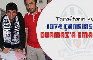 1074 Çankırspor deneyimli antröner ile sözleşme...