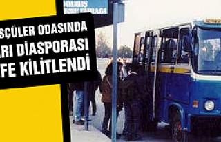 Ankara Minibüsçüler odasında Çankırı diasporası...