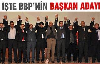 Büyük Birlik Partisi Çankırı adayını tanıttı