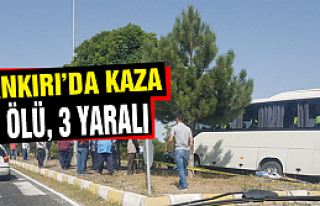 Çankırı'da trafik kazası! 1 kişi öldü, 3 kişi...