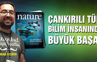 Çankırılı Türk bilim insanından büyük başarı...