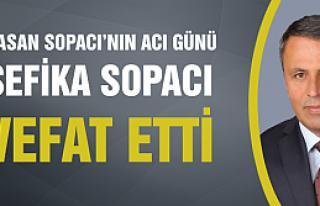 Çerkeş Belediye Başkanı Hasan Sopacı'nın acı...