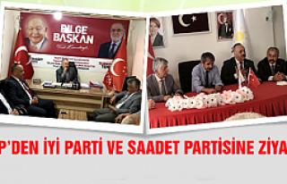 CHP'den İYİ Parti ve Saadet Partisine ziyaret