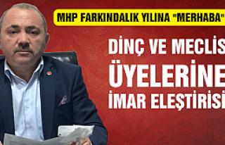 MHP'den AKP Meclisin üyelerine imar eleştirisi