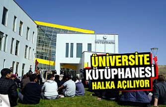 Karatekin Üniversitesi kütüphanesi halka açılıyor