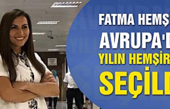 Çankırılı Fatma Hemşire Avrupa'da yılın hemşiresi seçildi