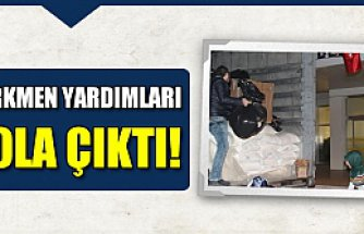 Türkmen yardımları Çankırı'dan yola çıktı!