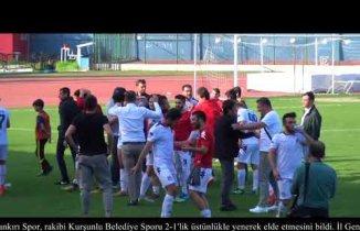 1074 Çankırı Spor'da galibiyet coşkusu
