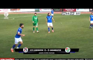 1074 Çankırıspor- Çarşambaspor 1-1 (FULL Karşılaşma)