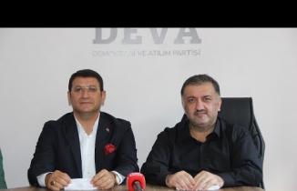 DEVA Partisi Çankırı Basın Toplantısı