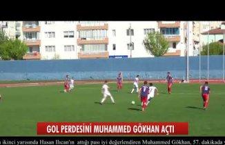 Gol perdesini 1074 Çankırıspor açtı