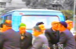 Kurşunlu'da 29 yıl öncesinin bayramlaşma görüntüleri!