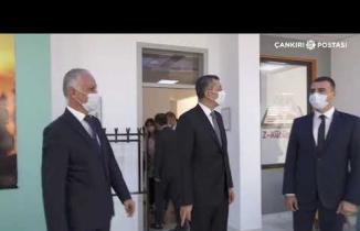 Milli Eğitim Bakanı Ziya Selçuk Çankırı Temasları